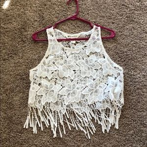 H&M Coachella Crop Top (size 14)